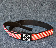 Ремень Off-White Black/Red/White, фото 3