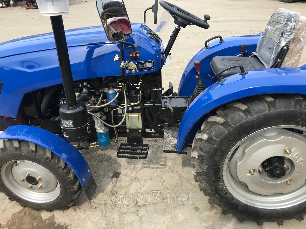 Трактор с доставкой Т244FНТ (24 л.с. ГУР, блокировка, 4+1)