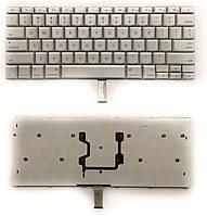 Клавиатура для ноутбука Apple MacBook Pro A1260 (ru-наклейки) серебро новая