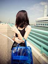 Модная прозрачная сумка + клатч 2в1 с принтами для стильных девушек, фото 3