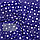 Бязевая тонкая пелёнка (польская бязь) 100х80 см детская для пеленания новорожденного в роддом 4688 Голубой, фото 3