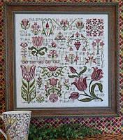 Схема Rosewood Manor Dreaming of Tulips S-1043