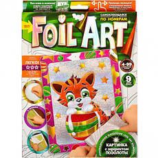 Аппликация цветной фольгой по номерам «Foil art», фото 2