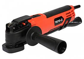 Многофункциональный инструмент YATO 500 Вт 16000 об/мин + насадки + кейс