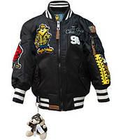 Дитяча льотна куртка Top Gun kid's MA-1 Champs Bomber with hoodie TGK1737 (Black)
