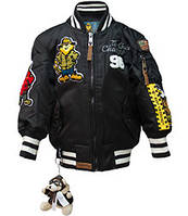 Дитяча льотна куртка Top Gun kid's MA-1 Champs Bomber with hoodie TGK1737 (Black), фото 1