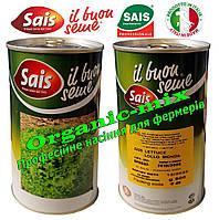 Семена салата Лолло Бионда / Lollo Bionda ТМ «Sais» (Италия), банка 500 грамм, фото 1