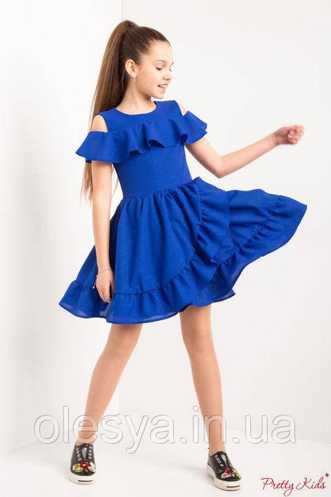 Нарядное платье на девочку Белла Размеры 140- 152