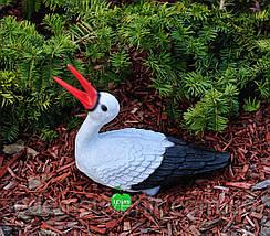 Садовая фигура Семья садовых аистов для гнезда №19, фото 3