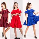 Нарядное платье на девочку Белла Размеры 140- 152, фото 5