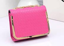 Модна повсякденна сумка скриня на ланцюжку, фото 2