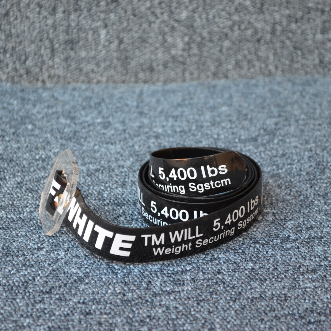 Ремень Off-White Silicone Black