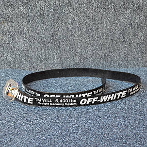 Ремень Off-White Silicone Black, фото 2