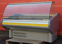 Холодильная витрина охлаждаемая «Mawi» 1.7 м. (Польша), Широкая выкладка 70 см., Б/у