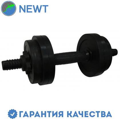 Гантель обрезиненная Newt PL 10,5 кг
