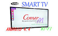 "LCD LED Телевизор Comer 32"" Smart TV+WiFi+T2, HDMI, Android 4.4"