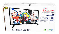 "LCD LED Телевизор Comer 32"" Smart TV+WiFi+T2, HDMI, Android 4.4, фото 8"