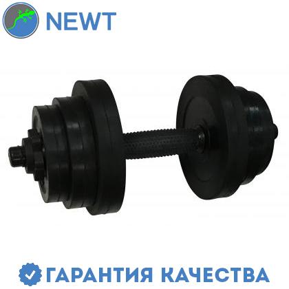 Гантель обрезиненная Newt PL 12,5 кг