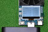 USB type C електронна навантаження тестер 35W з USB Type C, тест кабелів, критичний автотест, фото 6