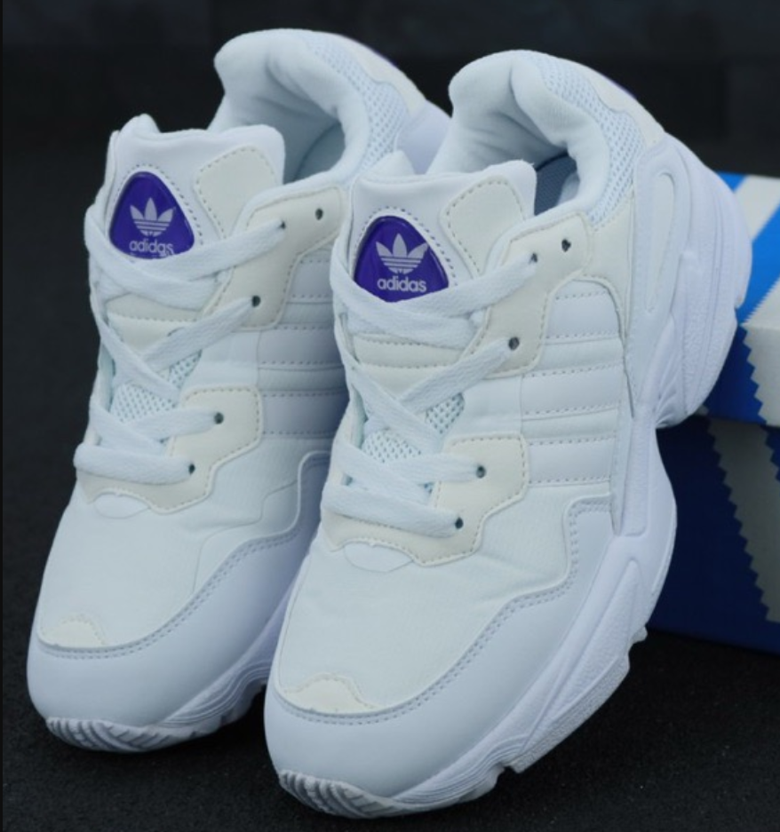 Мужские и Женские кроссовки Adidas Yung 96 White