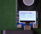 USB type C електронна навантаження тестер 35W з USB Type C, тест кабелів, критичний автотест, фото 7