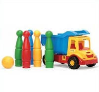 Самосвал-грузовик с кеглями wader 32220 - 2  в 1