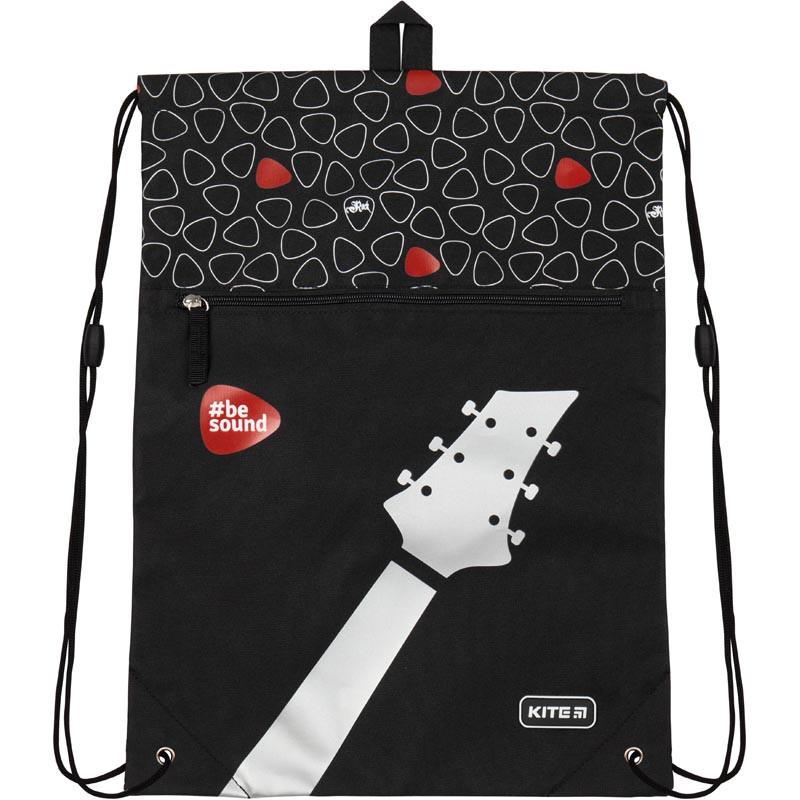 Сумка для обуви с карманом Kite Education 601L-9 Be sound K19-601L-9 ранец  рюкзак школьный hfytw ranec