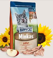 Сухой корм для кошек HAPPY CAT (Хэппи Кет) Minkas Geflugel, 4 кг