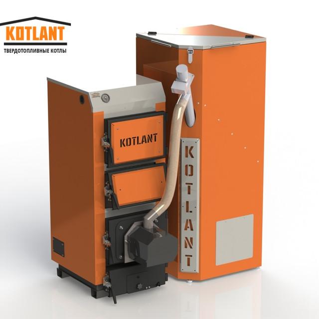 Котли з автоматичною подачею палива Kotlant 16-95 кВт (Котлант) - Україна