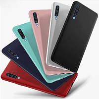 Силиконовая накладка для Samsung Galaxy A50 2019 (A505) Soft