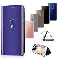Зеркальный Чехол Книжка для Samsung Galaxy M20 (M205) Mirror