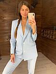 Женский стильный брючный костюм: пиджак и брюки (в расцветках), фото 9