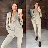 Женский стильный брючный костюм: пиджак и брюки (в расцветках), фото 10