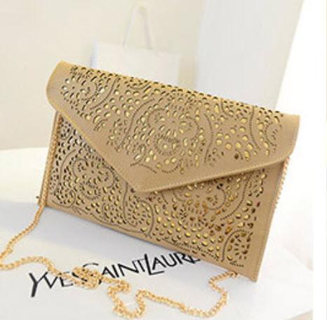 Элегантный клатч конверт винтажного стиля