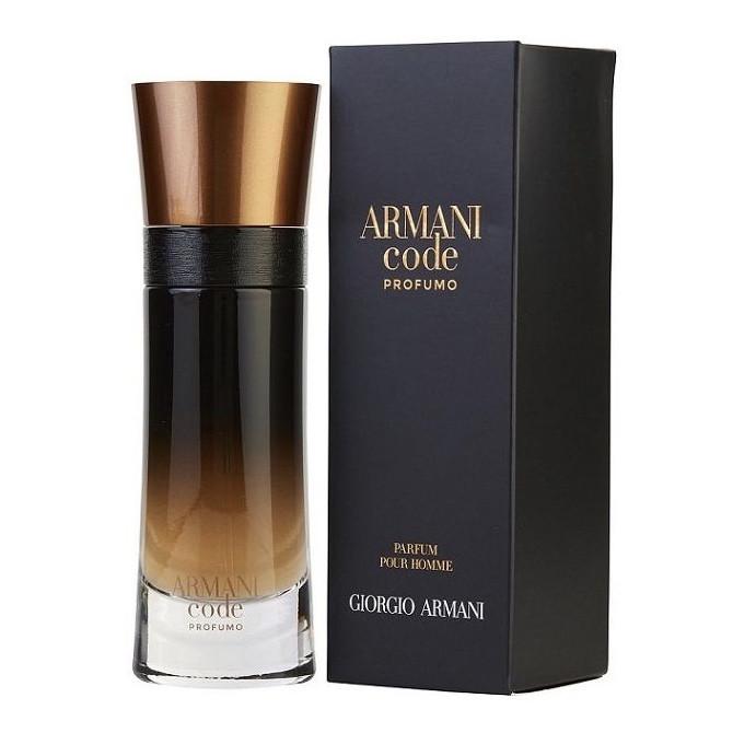 Французький чоловічий парфум GIORGIO ARMANI Code Profumo Parfum 60ml, вабливий східно-пряний амбровий аромат