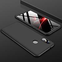 Чехол GKK 360 для Xiaomi Mi A2 Lite / Redmi 6 Pro бампер Black