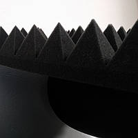 Акустические панели из поролона    1 м *1 м , 70 мм