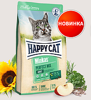 Сухой корм для кошек HAPPY CAT (Хэппи Кет) Minkas Mix Микс (птица, ягненок, рыба), 4 кг