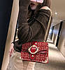 Вінтажна твідовий сумка скринька з пряжкою, фото 4