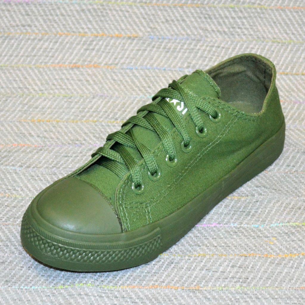 Зеленые кеды на мальчика размер 36 38