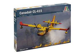 Пластиковая модель самолета CANADAIR CL-415. 1/72 ITALERI 1362