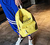 Стильные тканевые рюкзаки с вышивкой цвета, фото 3