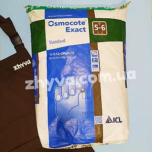Osmocote Exact Standard (15-9-12+2MgO+TE) 5-6 мес. 25кг (Осмокот)