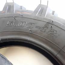 Шина 5.00-12 на мотоблок трактор с камерой   усиленная 487кг, фото 3