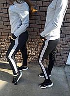 Женский спортивный костюм - Серый с бусами