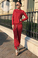 Женский костюм ангоровый теплый брючный, фото 1