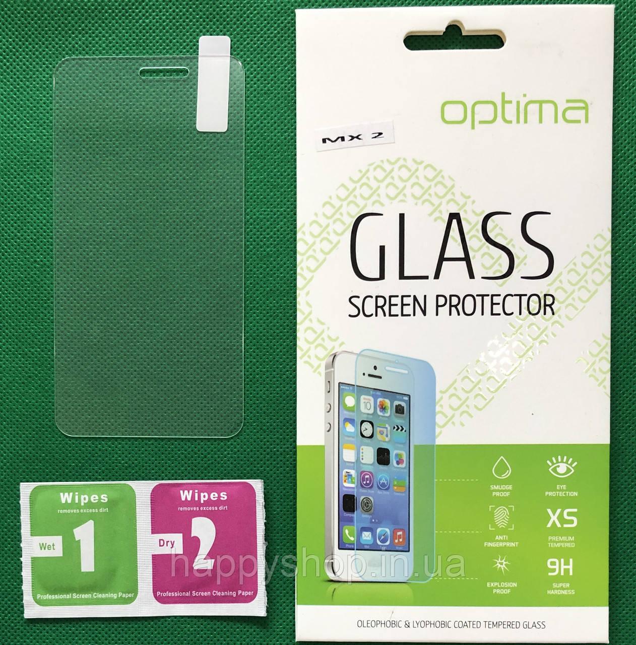 Защитное стекло Meizu MX2