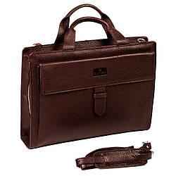 Портфель Eminsa 7095-26-3 кожаный коричневый