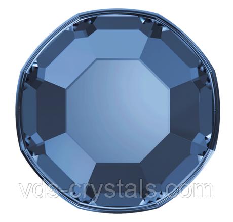 Кристаллы Сваровски клеевые холодной фиксации 2000 Montana (упаковка 1440 шт)