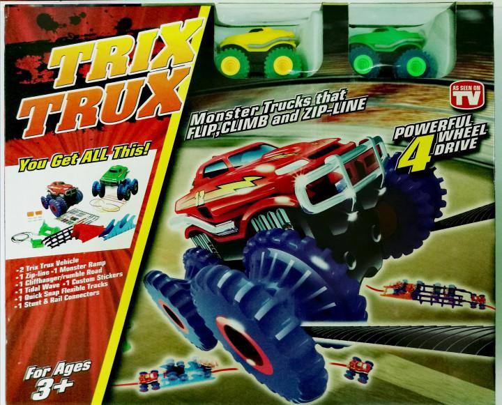 Автомобильный трек TRIX TRUX (Трикс Тракс) Монстр трак на 2 машинки Original